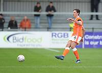 Blackpool's Ben Heneghan<br /> <br /> Photographer Kevin Barnes/CameraSport<br /> <br /> Emirates FA Cup First Round - Exeter City v Blackpool - Saturday 10th November 2018 - St James Park - Exeter<br />  <br /> World Copyright &copy; 2018 CameraSport. All rights reserved. 43 Linden Ave. Countesthorpe. Leicester. England. LE8 5PG - Tel: +44 (0) 116 277 4147 - admin@camerasport.com - www.camerasport.com