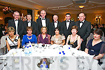 Kerry Radio Business awards night at Ballygarry House Hotel on Friday. Pictured front l-r Catherine Dwyer, Mary Magan, Barbara Lucey, Teresa Higgins Walker, Joan Murphy, Ester O'Sullivan, Back l-r Mike Magan, Declan Sheehan Mike Murphy, John O'Sullivan,John Walker,Gerry Dwyer