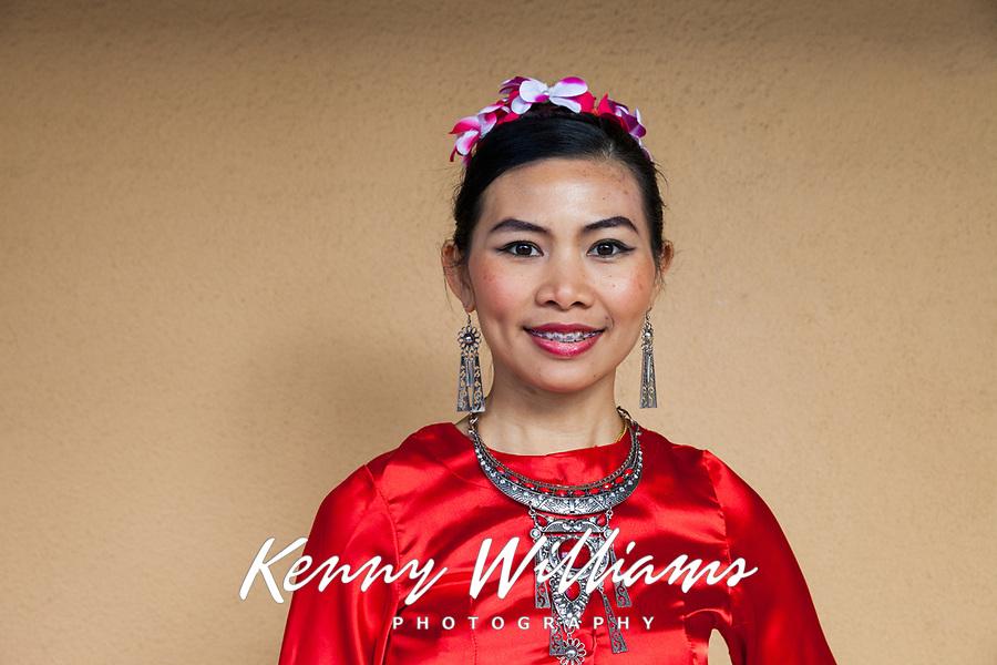 Nuden Bunchomphu, Thai Cultural Society, Chinese New Year 2018, Chinatown, Seattle, WA, USA.