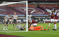 West Ham United's Andriy Yarmolenko scores but the goal was ruled out by the referee <br /> <br /> Photographer Rob Newell/CameraSport<br /> <br /> Carabao Cup Second Round Northern Section - West Ham United v Charlton Athletic - Tuesday 15th September 2020 - London Stadium - London <br />  <br /> World Copyright © 2020 CameraSport. All rights reserved. 43 Linden Ave. Countesthorpe. Leicester. England. LE8 5PG - Tel: +44 (0) 116 277 4147 - admin@camerasport.com - www.camerasport.com