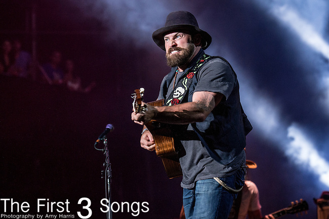 Zac Brown of The Zac Brown Band performs onstage during The Tortuga Music Festival in Fort Lauderdale, Florida.