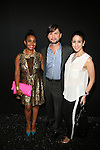 Maya Wynn Boyd,JR, Deana Kabakibi Backstage at Zang Toi Spring 2014 Fashion Show Held During Mercedes Benz Fashion Week NY