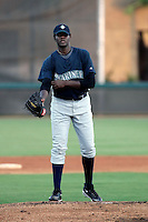 Michael Pineda - AZL Mariners (2009 Arizona League) - pitching a rehab appearance against the AZL Dodgers at Camelback Ranch, Glendale, AZ - 08/14/2009..Photo by:  Bill Mitchell/Four Seam Images..