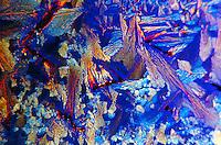 IODINE CRYSTALS<br /> Structural characteristics illuminated via magnification