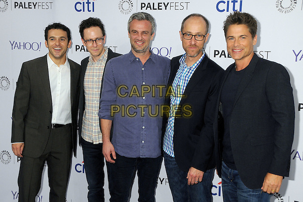 15 September 2015 - Beverly Hills, California - Fred Savage, Jarrad Paul, Andrew Mogel, Ben Wexler, Rob Lowe. 2015 PaleyFest Fall TV Preview - &quot;The Grinder&quot; held at The Paley Center. <br /> CAP/ADM/BP<br /> &copy;BP/ADM/Capital Pictures