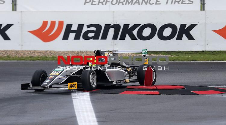 ADAC Formel 4, Oschersleben, 13.09.2015<br /> 3.Platz f&uuml;r Mick Schumacher (Sohn von Michael Schumacher)<br /> <br /> <br /> <br /> Foto &copy; nordphoto /  Bratic