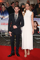 Luke Treadaway and Ruta Gedmintas<br /> at the Premiere of &quot;A Street Cat Named Bob&quot;, Curzon Mayfair, London.<br /> <br /> <br /> &copy;Ash Knotek  D3194  03/11/2016