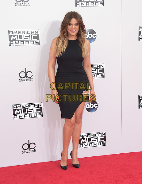 Khloe Kardashian at The 2014 American Music Award held at The Nokia Theatre L.A. Live in Los Angeles, California on November 23,2014                                                                                <br /> CAP/RKE/DVS<br /> &copy;DVS/RockinExposures/Capital Pictures