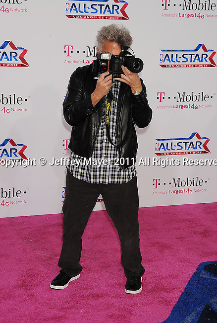 LOS ANGELES, CA - FEBRUARY 20: Dustin Hoffman arrives at the T-Mobile Magenta Carpet at the 2011 NBA All-Star Game at L.A. Live on February 20, 2011 in Los Angeles, California.
