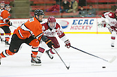 Tom Kroshus (Princeton - 4), Colin Blackwell (Harvard - 63) - The Harvard University Crimson defeated the visiting Princeton University Tigers 5-0 on Harvard's senior night on Saturday, February 28, 2015, at Bright-Landry Hockey Center in Boston, Massachusetts.