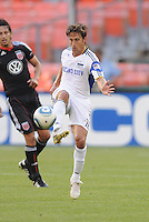 Kansas City Wizards forward Josh Wolff (16).  DC United defeated The Kansas City Wizards  2-0 at RFK Stadium, Wednesday  May 5, 2010.