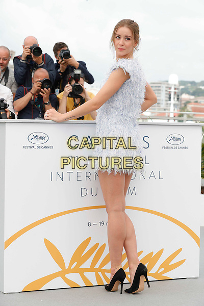 CANNES, FRANCE - MAY 10: Irina Starshenbaum during the photocall for 'Leto' during the 71st annual Cannes Film Festival at Palais des Festivals on May 10, 2018 in Cannes, France<br /> CAP/GOL<br /> &copy;GOL/Capital Pictures