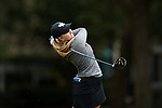 WILMINGTON, NC - OCTOBER 28: Kentucky's Sarah Shipley on the 12th tee. The second round of the Landfall Tradition Women's Golf Tournament was held on October 28, 2017 at the Pete Dye Course at the Country Club of Landfall in Wilmington, NC.