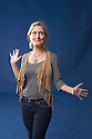 Cressida Cowell.children's author of the book How To Train Your Dragon  at The Edinburgh International  Book Festival 2010 .CREDIT Geraint Lewis