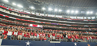 Hawgs Illustrated/BEN GOFF <br /> Arkansas takes on Texas A&amp;M Saturday, Sept. 23, 2017, during the Southwest Classic at AT&amp;T Stadium in Arlington, Texas.