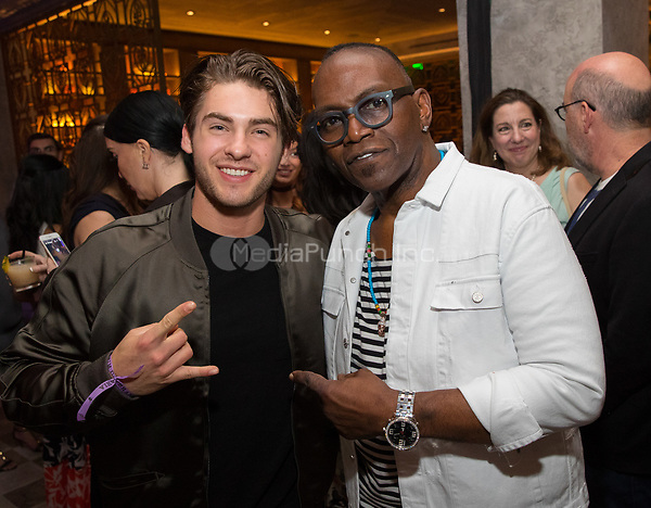 LAS VEGAS, NV - May 12, 2017: ***HOUSE COVERAGE*** Cody Allen Christian and Randy Jackson pictured at Chica Las Vegas Grand Opening at The Venetian Las Vegas in Las Vegas, NV on May 12, 2017. Credit: Erik Kabik Photography/ MediaPunch