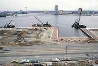 1983 March ..Redevelopment.Downtown South (R-9)..OTTER BIRTH.CONSTRUCTION PROGRESS.FROM WORLD TRADE CENTER...NEG#.NRHA#..