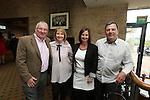 Celebrity Golf @ Golf Live.Alun & Jane Pearson with Jan & Ian Cummings..Celtic Manor Resort.12.05.13.©Steve Pope