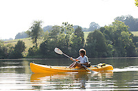 Kayaking in Albemarle County, Va.