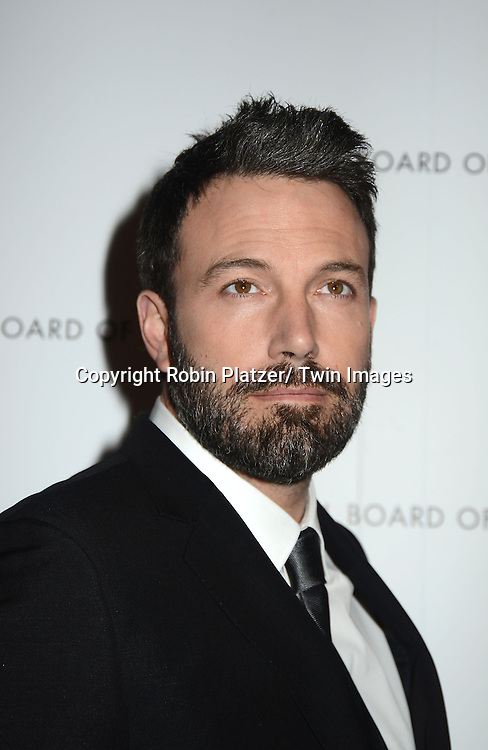 Ben Affleck attends the 2013 National Board of Review Awards Gala on January 8, 2013 at Cipriani 42nd Street in New York City.
