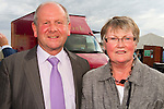 Patrick Finnegan and Betty Trevors at the Bellewstown Races..Picture: Shane Maguire / www.newsfile.ie.