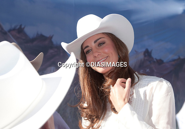 "PRINCE WILLIAM & KATE CANADA.attend the Calgary Stampede, Calgary_08/07/2011.Mandatory Credit Photo: ©DIASIMAGES. .**ALL FEES PAYABLE TO: ""NEWSPIX INTERNATIONAL""**..No UK Usage until 3/08/2011.IMMEDIATE CONFIRMATION OF USAGE REQUIRED:.DiasImages, 31a Chinnery Hill, Bishop's Stortford, ENGLAND CM23 3PS.Tel:+441279 324672  ; Fax: +441279656877.Mobile:  07775681153.e-mail: info@newspixinternational.co.uk"