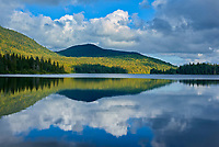 Cloud reflection in Lac Modène<br />