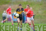 Brian Looney Crokes Barry Fitzpatrick Moanleen Crokes v Moanleen in the Munster Club Championship Quarter Final in Killarney on Sunday.