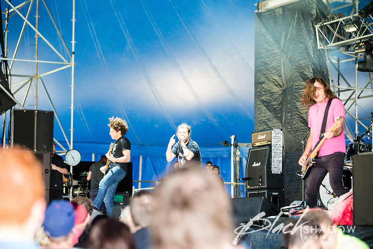 OFF! performing at The Big Day Out, Melbourne, Flemington Racecourse, 26 January 2013
