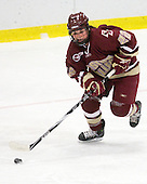 Mary Restuccia (BC - 22) - The Harvard University Crimson defeated the Boston College Eagles 5-0 in their Beanpot semi-final game on Tuesday, February 2, 2010 at the Bright Hockey Center in Cambridge, Massachusetts.