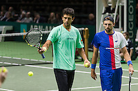 ABN AMRO World Tennis Tournament, Rotterdam, The Netherlands, 17 Februari, 2017, Marcelo Melo (SVK), Lukasz Kubot (CZE)<br /> Photo: Henk Koster