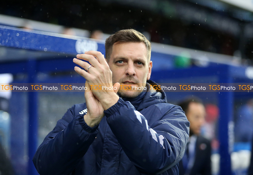 Jonathan Woodgate manager of Middlesbrough during Queens Park Rangers vs Middlesbrough, Sky Bet EFL Championship Football at Loftus Road Stadium on 9th November 2019