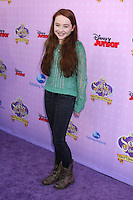 """LOS ANGELES - NOV 10:  Sabrina Carpenter arrives at the """"Sofia The First: Once Upon a Princess"""" Premiere And Story Book Launch at Walt Disney Studios on November 10, 2012 in Burbank, CA"""