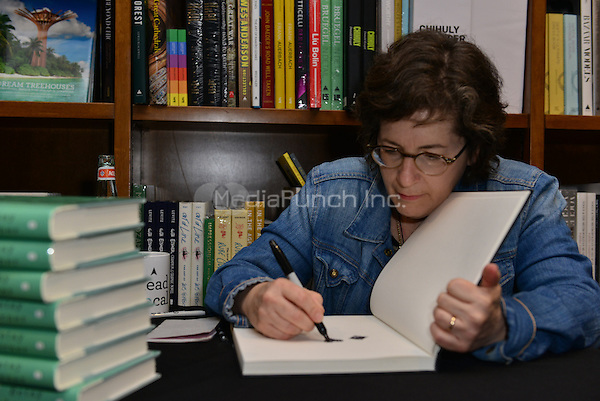 CORAL GABLES, FL - MAY 11: Author Betsy Lerner discussion and book signing of ' The Bridge Ladies: A Memoir ' at Books and Books in Coral Gables, Florida on May 11, 2016. Credit: MPI10 / MediaPunch
