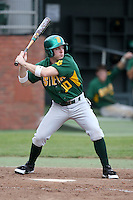 February 21, 2010:  Outfielder Kyle Hudson (10) of the Siena Saints during a game at Melching Field at Conrad Park in DeLand, FL.  Siena lost to Stetson by the score of 8-7.  Photo By Mike Janes/Four Seam Images