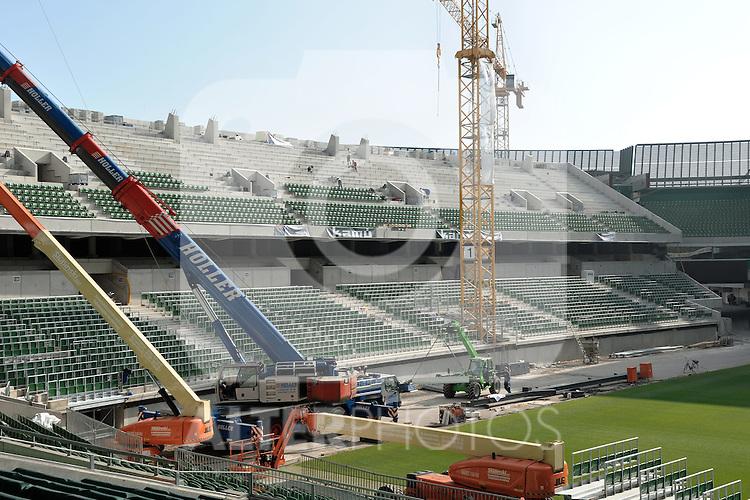 12.10.2010, Weserstadion, Bremen, GER, 1. FBL, Weserstadion, im Bild Ostkurve des Weserstadions   Foto © nph / Frisch