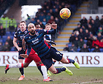 08.03.2020: Ross County v Rangers: Liam Fontaine clears