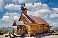 New Testament Christian Church. Goldfield ghost town, Arizona.