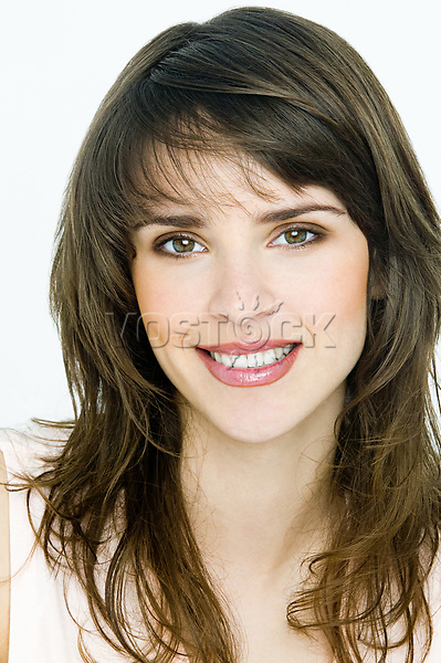 Portrait of young brunette woman<br /> <br /> Image downloaded by Vilena Tereshkina at 9:04 on the 01/12/15
