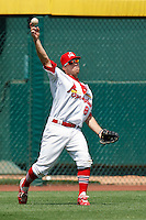 Mike Folli (8) April 20th, 2010; Midland Texas Rockhounds vs The Springfield Cardinals at Hammons Field in Springfield Missouri.  The Cardinals won in the 9th inning breaking a 1-1 tie.