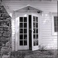 Opened doorway<br />