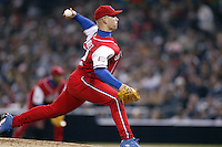 Norberto Gonzalez of the Cuban national team during championship game against Japan during the World Baseball Championships at Petco Park in San Diego,California on March 20, 2006. Photo by Larry Goren/Four Seam Images