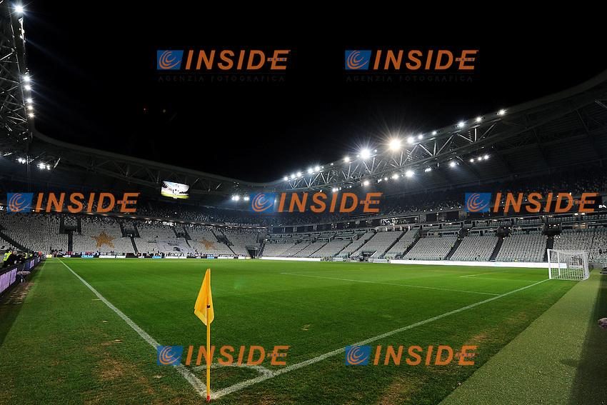 "Panoramica.Torino 24/01/2012 Stadio ""Juventus Stadium"".Football Calcio 2011/2012 Coppa Italia.Juventus Vs Roma.Foto Insidefoto Andrea Staccioli"