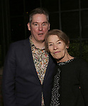 """Daniel Pearce Jackson Hodges and Glenda Jackson  during the Opening Night After Party for """"Three Tall Women"""" at the Bowery Hotel on 3/29/2018 in New York City."""