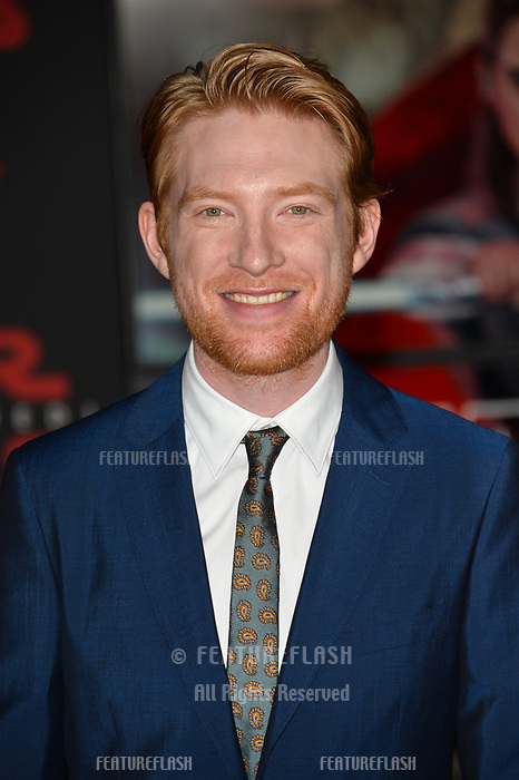 Domhnall Gleeson at the world premiere for &quot;Star Wars: The Last Jedi&quot; at the Shrine Auditorium. Los Angeles, USA 09 December  2017<br /> Picture: Paul Smith/Featureflash/SilverHub 0208 004 5359 sales@silverhubmedia.com