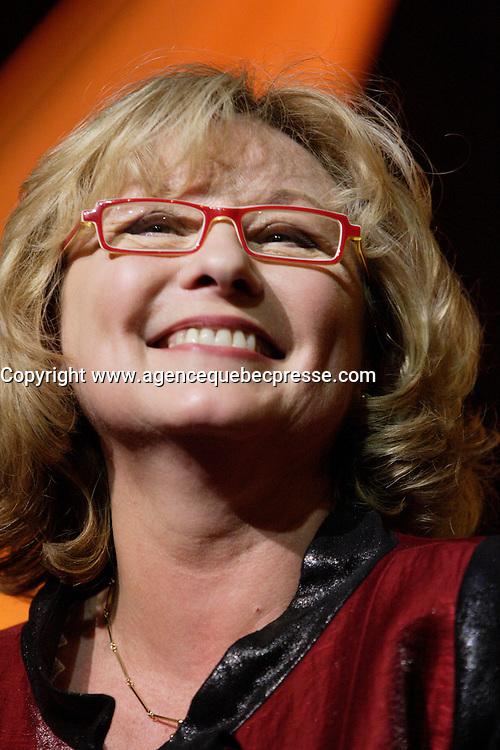 Montreal (QC) CANADA,  march 28 2010 - Consumer Choice Award gala, Marguerite Blais