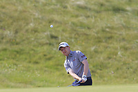 Gavin Moynihan (IRL) chips onto the 3rd green during Thursday's Round 1 of the Dubai Duty Free Irish Open 2019, held at Lahinch Golf Club, Lahinch, Ireland. 4th July 2019.<br /> Picture: Eoin Clarke | Golffile<br /> <br /> <br /> All photos usage must carry mandatory copyright credit (© Golffile | Eoin Clarke)