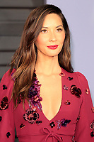 LOS ANGELES - MAR 4:  Olivia Munn at the 24th Vanity Fair Oscar After-Party at the Wallis Annenberg Center for the Performing Arts on March 4, 2018 in Beverly Hills, CA