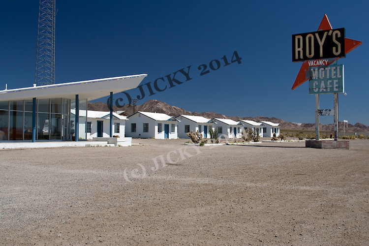 Old Roy's Motel along Route 66