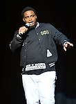 MIAMI, FL - JANUARY 16: Comedian Fat & Funny  onstage during The Festival of Laughs day1 at James L Knight Center on Friday January 16, 2015 in Miami, Florida. (Photo by Johnny Louis/jlnphotography.com)